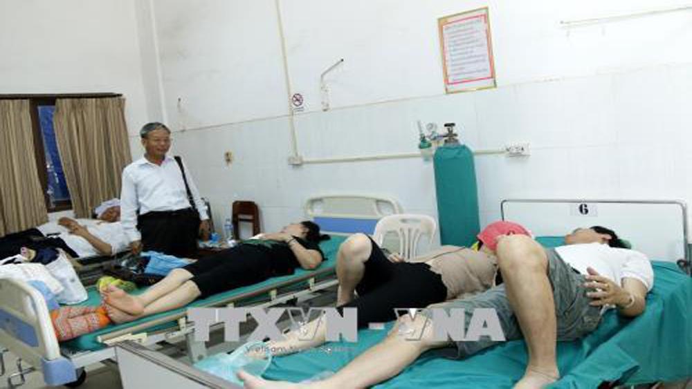 Thông tin về vụ tai nạn khiến 14 người Việt bị thương tại Lào